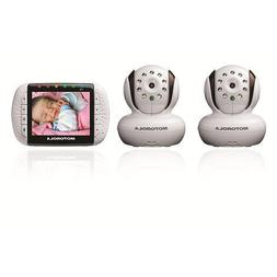 Motorola Remote Wireless Video Baby Monitor withColor LCD Sc