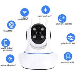 Rundaotong-US IP Camera, Wireless 1080P Security Camera with