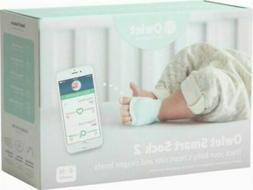 Owlet Smart Sock 2 Baby Monitor Bluetooth White Factory Seal