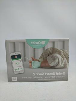Owlet Smart Sock 2 Baby Monitor Track Baby's Heart Rate and