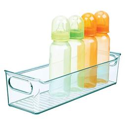 mDesign Storage Organizer Container Bin with Handles for Kid