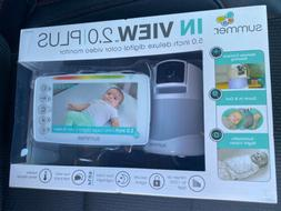 "Summer In-View 2.0 Plus Baby Monitor 5"" Deluxe Digital Color"