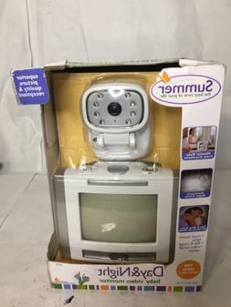 SUMMER VIDEO BABY MONITOR-OLDER MODEL WORKS GREAT-NO. 02620A