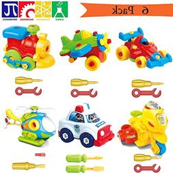 Take Apart Toys With Tools, Airplane Car Toys STEM Learning