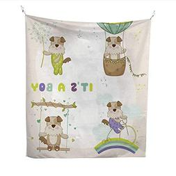25 Home Decor Tapestries Baby Dog Set for Baby Shower or Bab