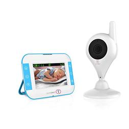 TimeFlys Video Baby Monitor C240B 2.4 inch LCD Vibration Inf