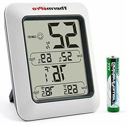 tp50 digital hygrometer indoor thermometer room