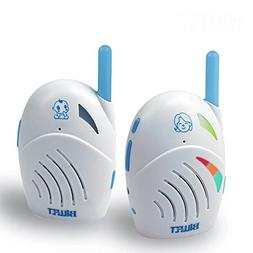 TENKER Two-way Baby Audio Monitor with Temprature Sensor and