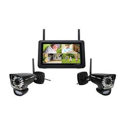 """Uniden UDR780HD DIY Security 7"""" LCD Monitor with 2 1080p HD"""