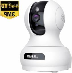 Updated Lefun Video Baby Monitor, 3MP Home WiFi Security Pet