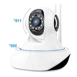 【UPGRADED】1080P HD Home Wireless Wifi Security Camera In