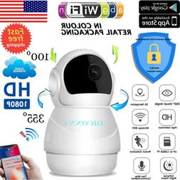 US 1080P HD Wireless IP Security Camera Indoor CCTV Home Sma