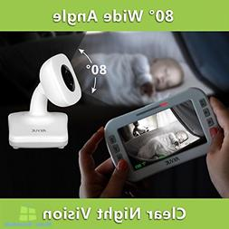 Video Baby Monitor 2 Cameras With Night Vision Wireless Digi