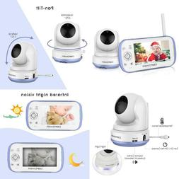 "Dbpower Video Baby Monitor, 270O Pan-Tilt-Zoom/4.3"" Large"
