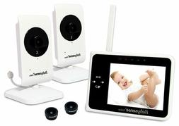 "Babysense Video Baby Monitor 3.5"" with Two Cameras 