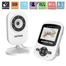 "Video Baby Monitor Camera 2-Way Talk 2.4"" Digital Wireless N"