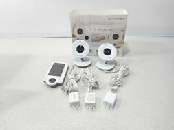 """Project Nursery Video Baby Monitor w/ Cameras 4.3"""" Screen Mo"""