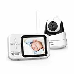 DBPOWER Video Baby Monitor with Camera and Audio, 360°Pan 3