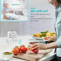 Video Baby Monitor with Camera- HD Night Vision Video Baby M