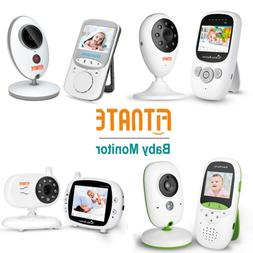 Baby Monitor Video with Digital Camera Room Temperature Infr