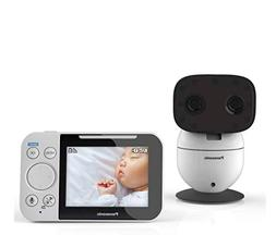 PANASONIC Video Baby Monitor with Extra Long Audio/Video Ran