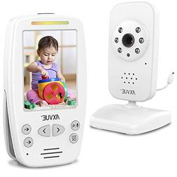 Video Baby Monitor with Night Vision Camera and Comfortable