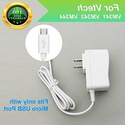 For Vtech Vm341, Vm343, Vm344 Baby Monitor Charger Power Cor