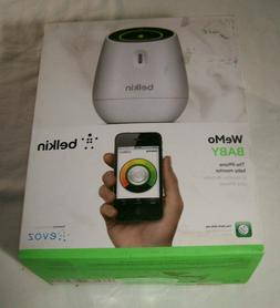 New Belkin WeMo Baby Monitor for Apple iPhone, iPad, and iPo