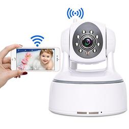 Wireless Security Camera, Aisino WiFi Indoor IP Cam Remote C