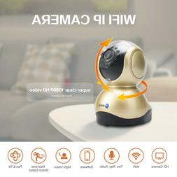 Wireless 1080P Wifi Pet Baby Monitor Two Way Audio Night Vis