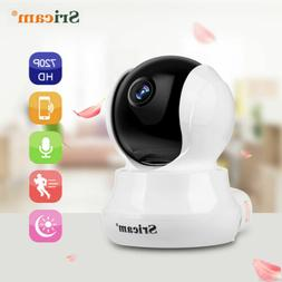 Wireless 720P HD Pan/Tilt IP Camera WiFi Webcam 2-way Talk B