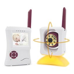 VIPinfant Wireless Audio & Video Baby Monitor with True Colo