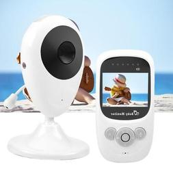 "Wireless Digital 2.4"" LCD HD Baby Monitor Camera Night Visio"
