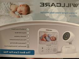 Willcare Wireless Digital Video Baby Monitor
