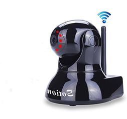 Sotion Video Baby Monitor, HD Wireless Pet Camera with Two W