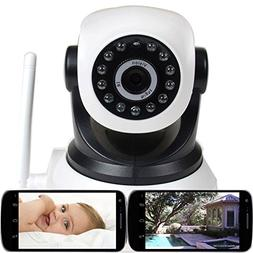 VideoSecu Wireless IP Baby Monitor Video Day Night Vision Se