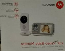Motorola 2.8 inch Wireless Video Baby Monitor MBP483