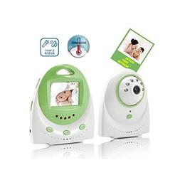 Hatop 2.4G wireless digital baby monitor 2.4inch LCD receive