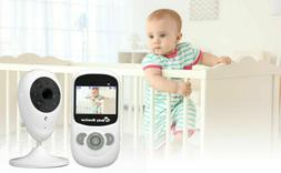 """Wireless Security Camera Baby Monitor 2.4"""" LCD Audio Lullaby"""