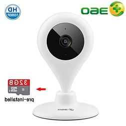 360 HD 1080P Wireless Security WiFi IP Camera Home Video Aud