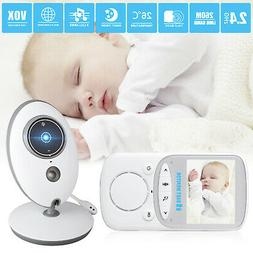 wireless video baby monitor lcd infant surveillance