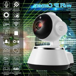 Wireless Wi-Fi Baby Monitor Alarm Home Security IP Camera IR