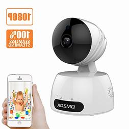DMZOK Wireless WiFi Camera, ProHD 1080P Home Security Camera