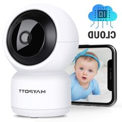 Wireless Wifi Camera Baby Monitor Detection 2 Way Audio IR N