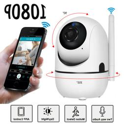Wireless WiFi IP Security Camera 1080P Indoor Home Surveilla